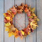 7/11 (15:00) — Handmade Autumn Wreath
